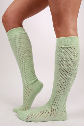 Naturally Beautiful Sock Mint
