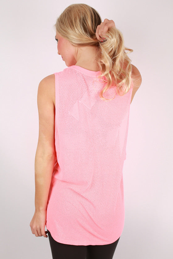 Basic Loose Top in Coral