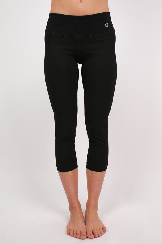 Basic Jersey Capri Pants