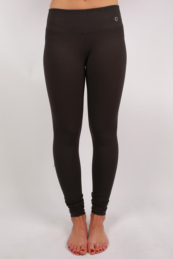 Basic Thick Jersey Long Pants in Charcoal