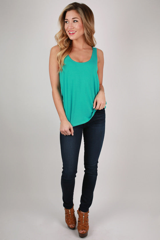 PIKO Tank Bright in Teal