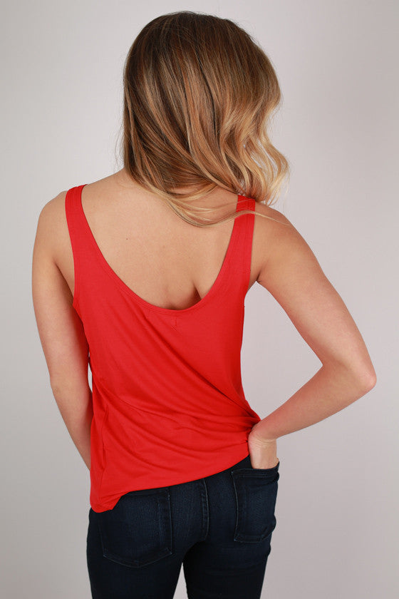 PIKO Tank in Red