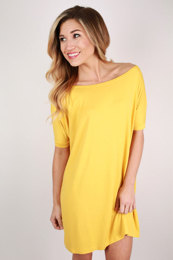 PIKO Short Sleeve Tunic in Gold