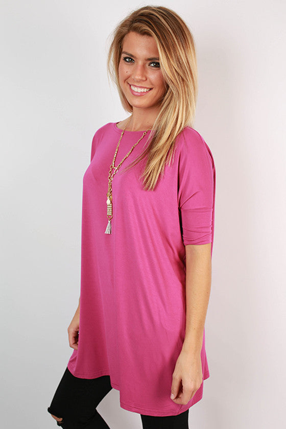PIKO Mini Short Sleeve Tunic in Orchid