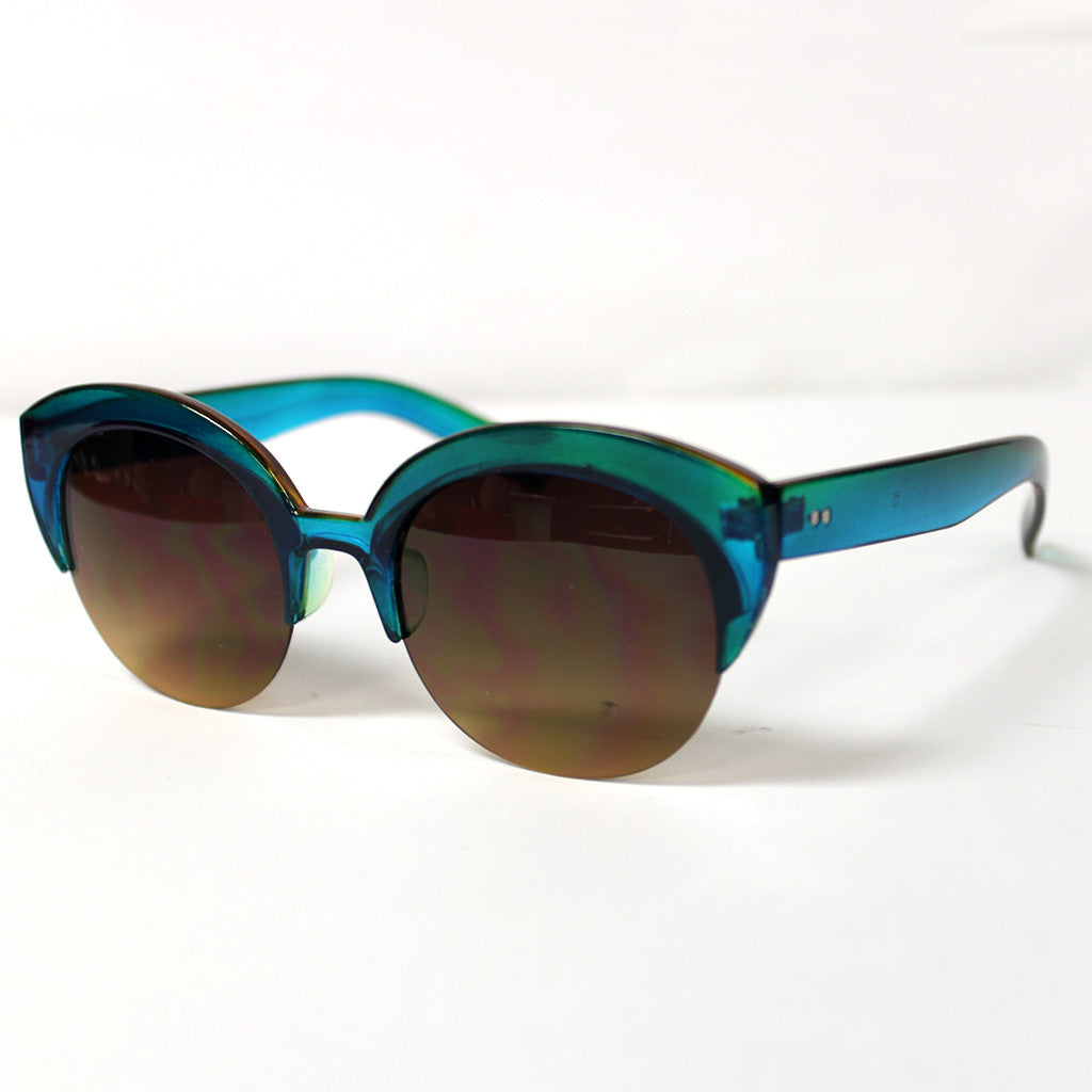 Living in Color Sunglasses in Jade