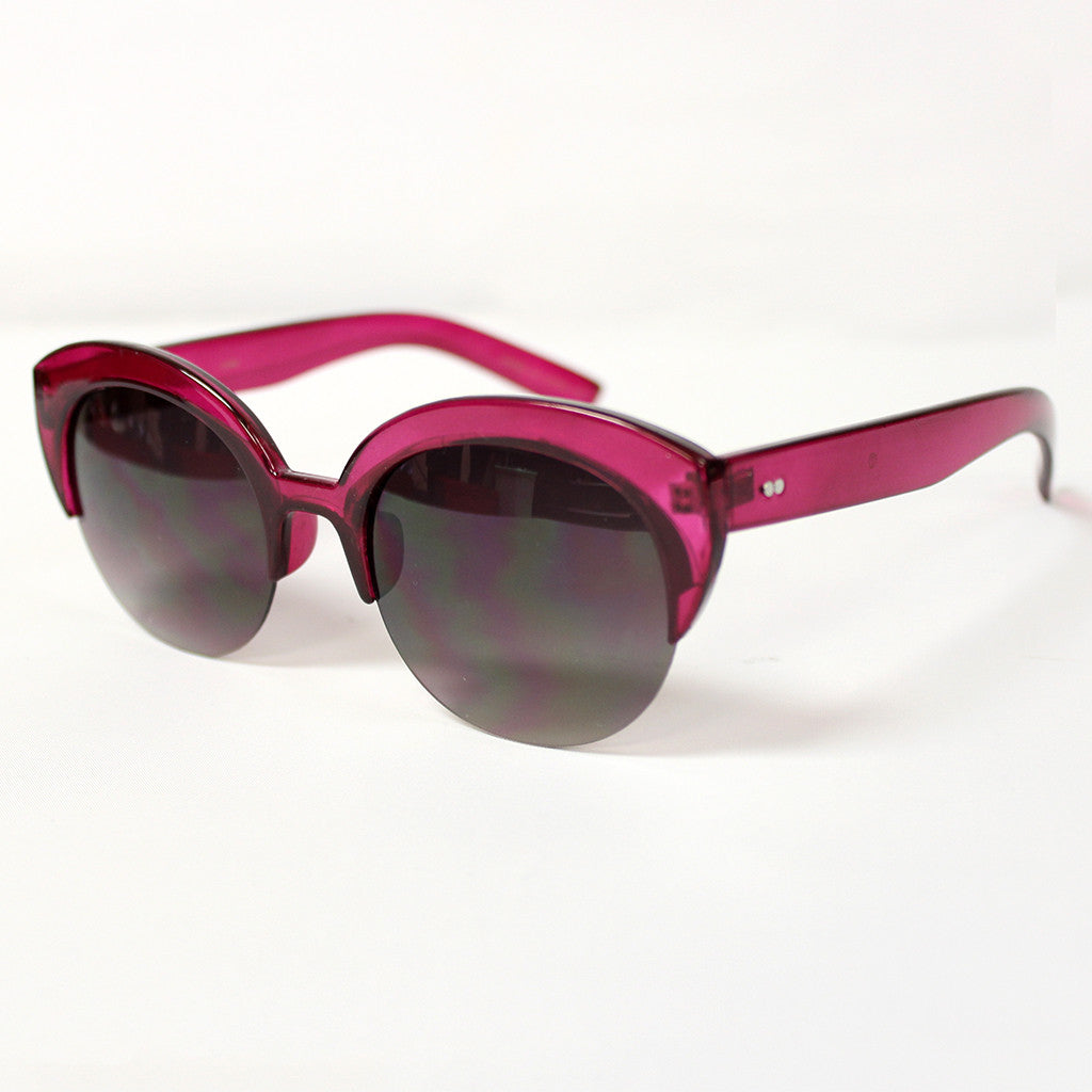 Living in Color Sunglasses in Fuchsia