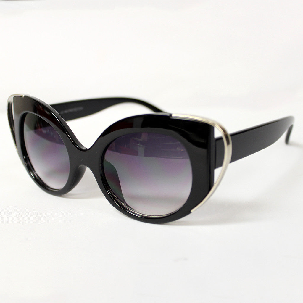 Sunny Days Ahead Sunglasses Black/Silver