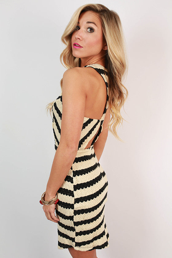 Stripes Are My Desire Dress