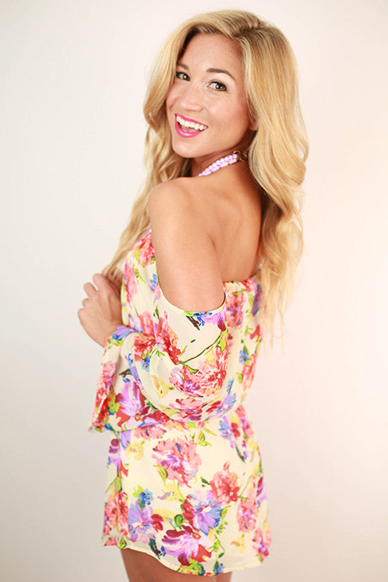 Floral Obsession Romper