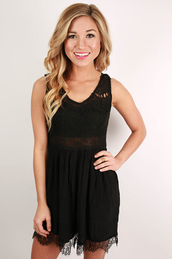 It's Always Been You Lace Romper