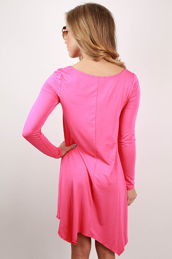 Serendipity Divine Tee in Hot Pink