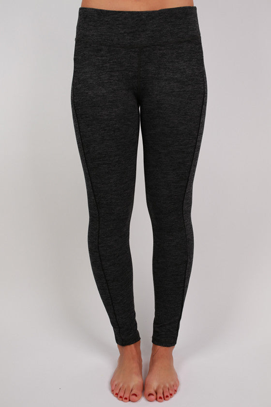 Active Legging Pant in Charcoal