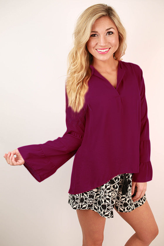 Island Mindset Top in Orchid