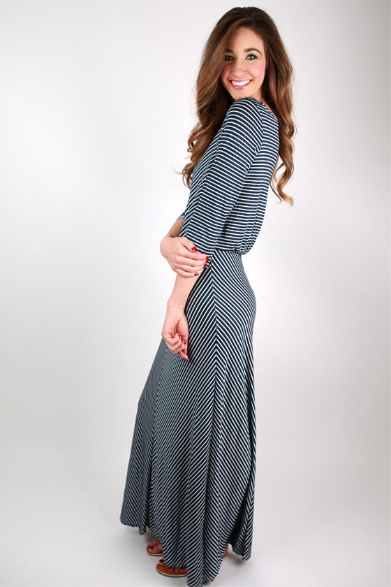 Southern Stripe Maxi Dress