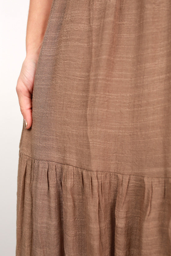 Share The Love Maxi Dress in Mocha