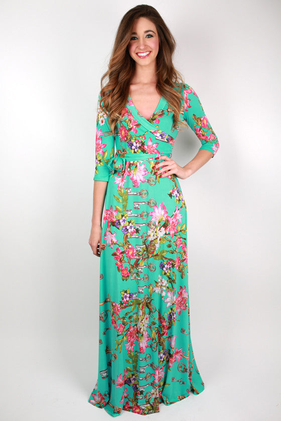 Sweet Kiss Maxi Dress