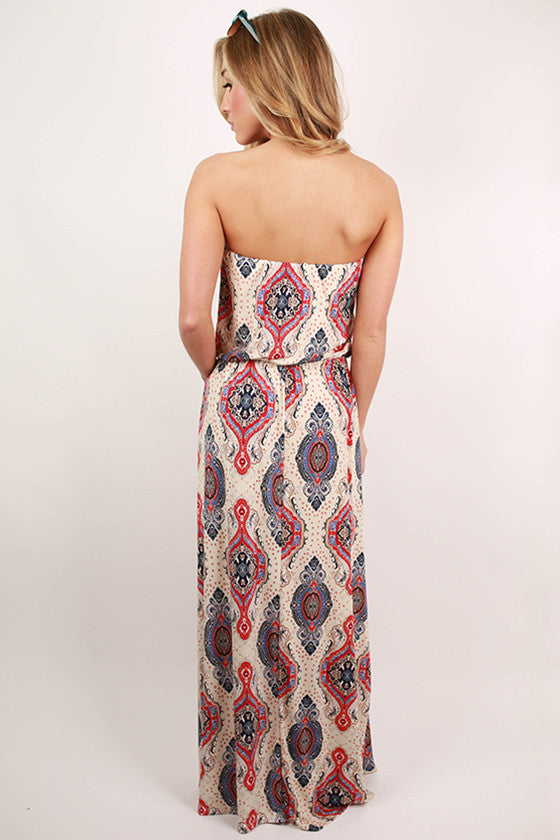 Play on Prints Maxi Dress