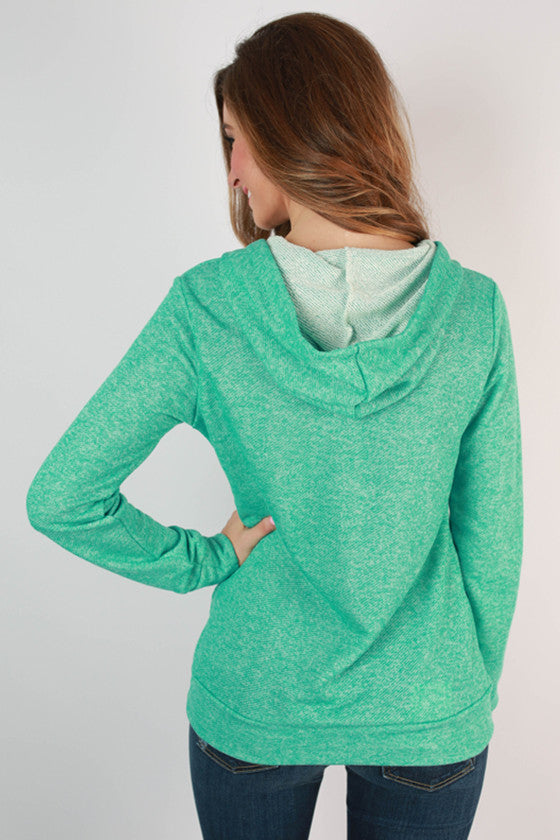 The Weekender Hoodie in Ocean Wave