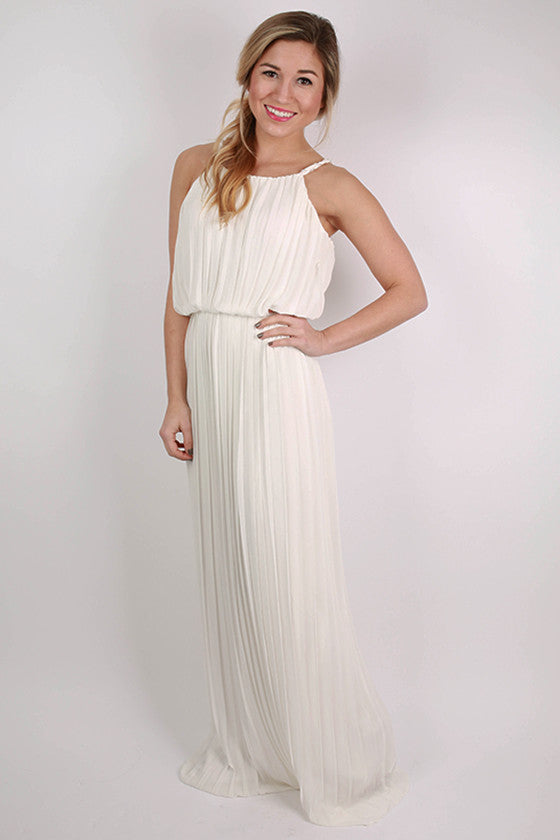 Lola Divine Maxi Dress in White