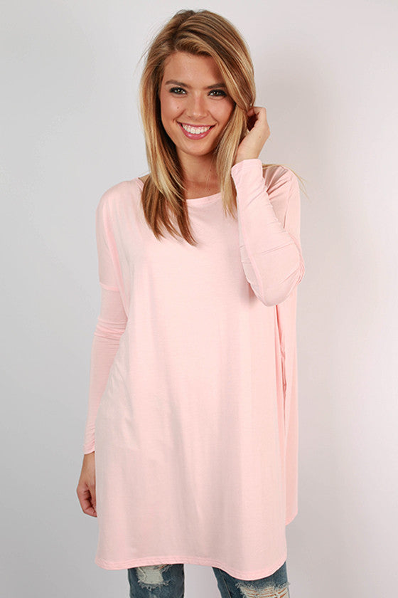 PIKO Tunic in Light Peach