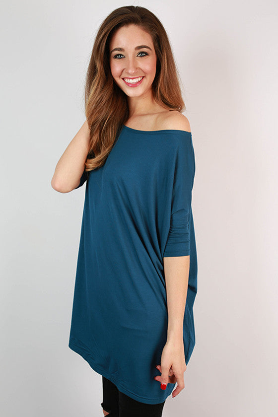 PIKO Mini Short Sleeve Tunic in Indigo