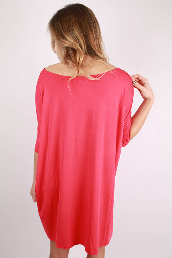 PIKO Mini Short Sleeve Tunic in Watermelon