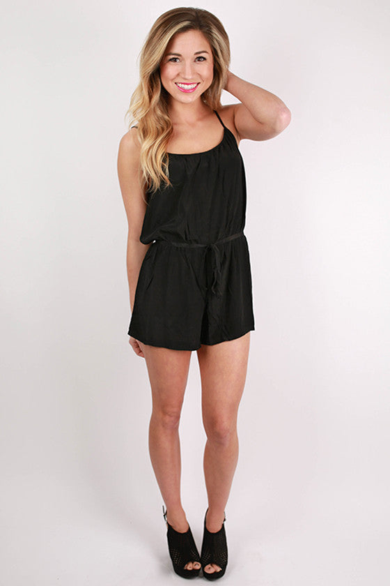 PIKO Romper in Black