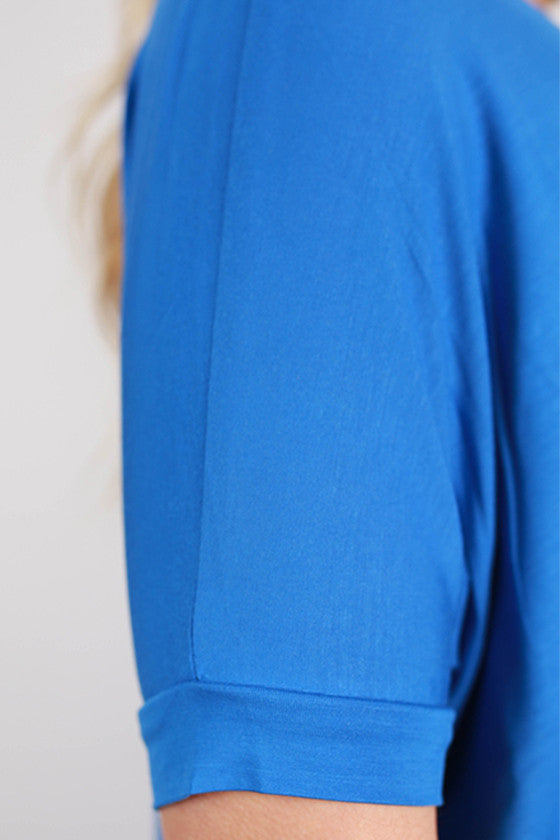 PIKO Short Sleeve Tee in Blue