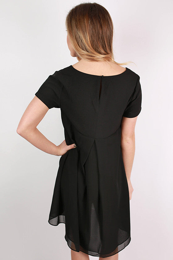 Sweet and Simple Dress in Black