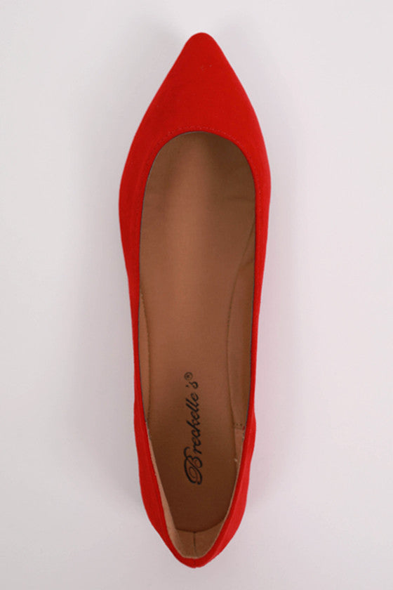 The Monroe Flat in Red