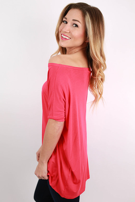 PIKO Short Sleeve Tee in Watermelon