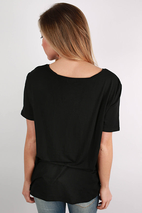 PIKO V-Tee in Black