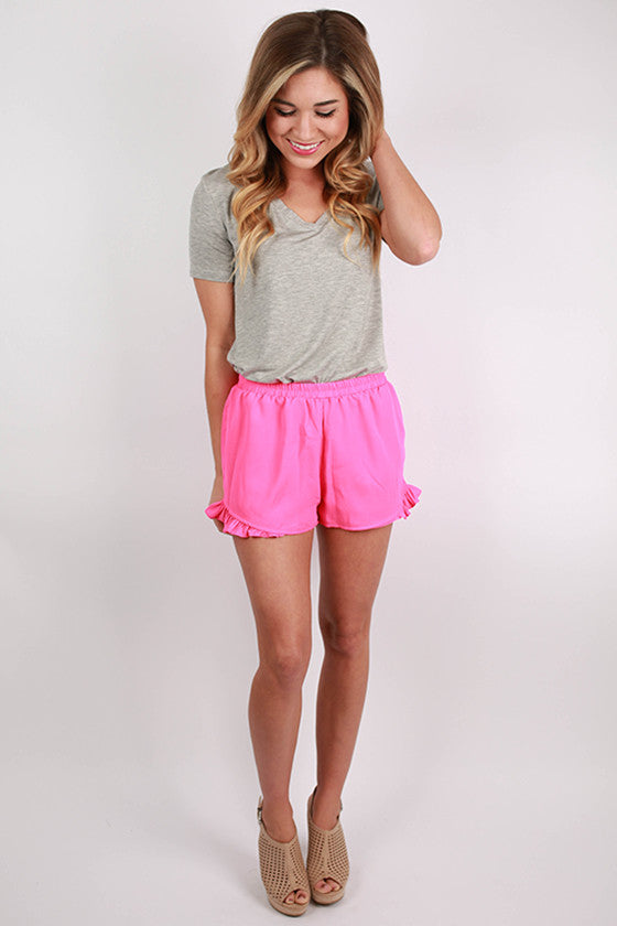 Sand To Sea Shorts In Hot Pink Impressions Online Women