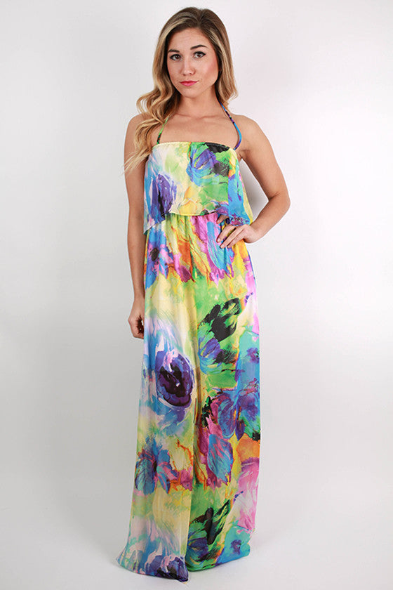 Tea For Two Maxi Dress