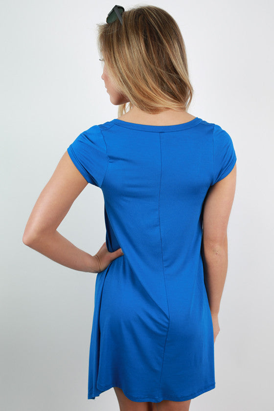I'm Flawless Tunic in Blue