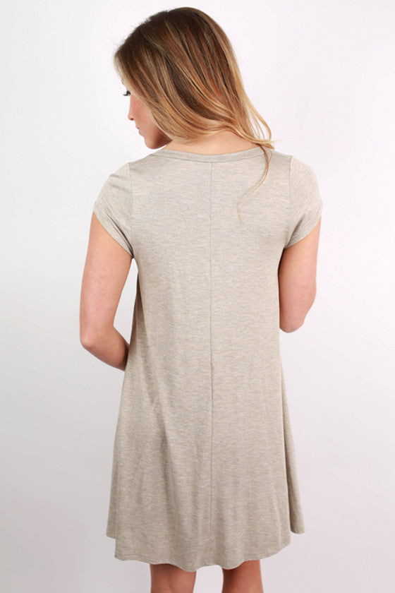 I'm Flawless Tunic in Oatmeal