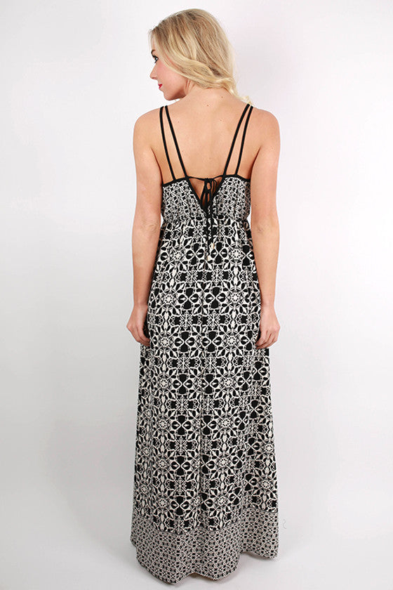 Worth The Wait Printed Maxi Dress