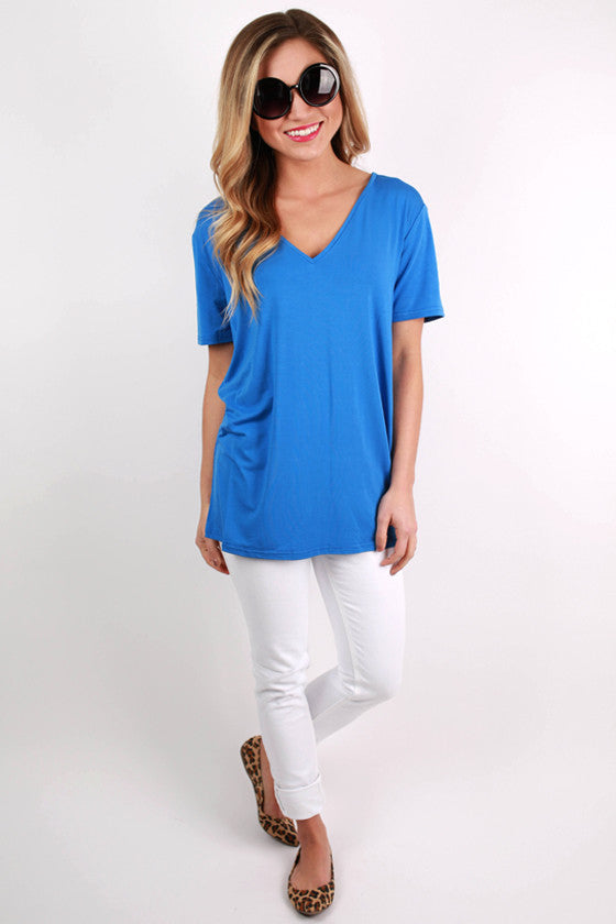PIKO V-Tee in Blue