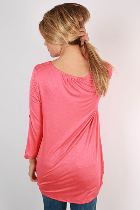 So Charming Top in Calypso