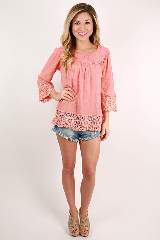 Greatest Hits Top in Coral