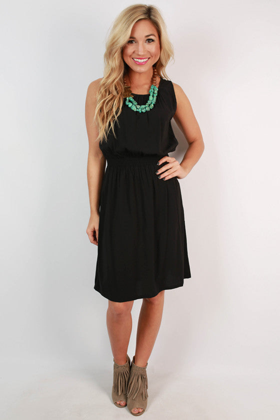 PIKO Classic Dress in Black