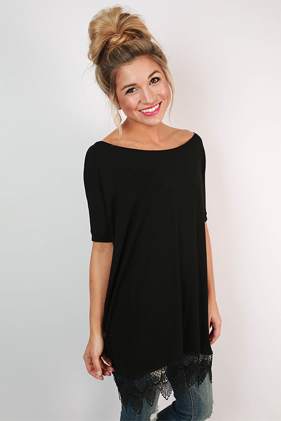 PIKO Uptown Top in Black