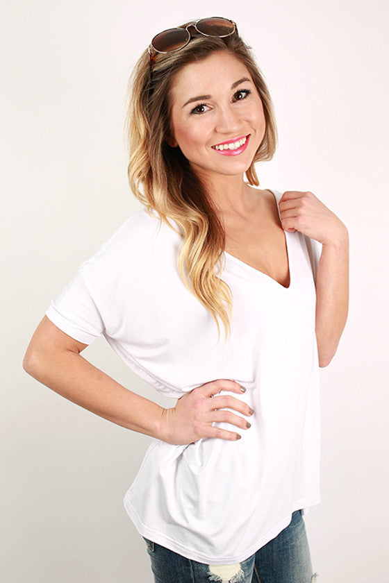 PIKO Everyday Tee in Bleach White