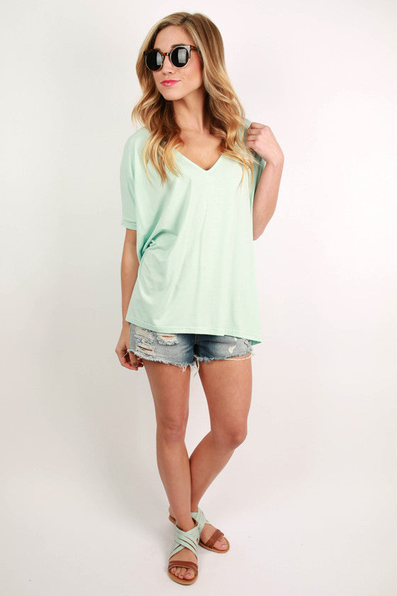 PIKO Everyday Tee in Mint