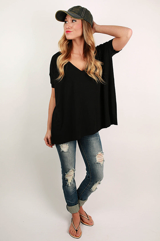 PIKO Everyday Tee in Black