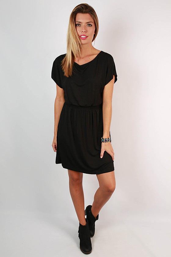PIKO Chic Dress in Black