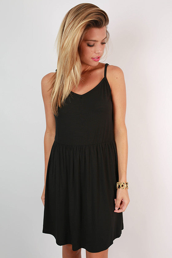 PIKO Sea Breeze Dress in Black