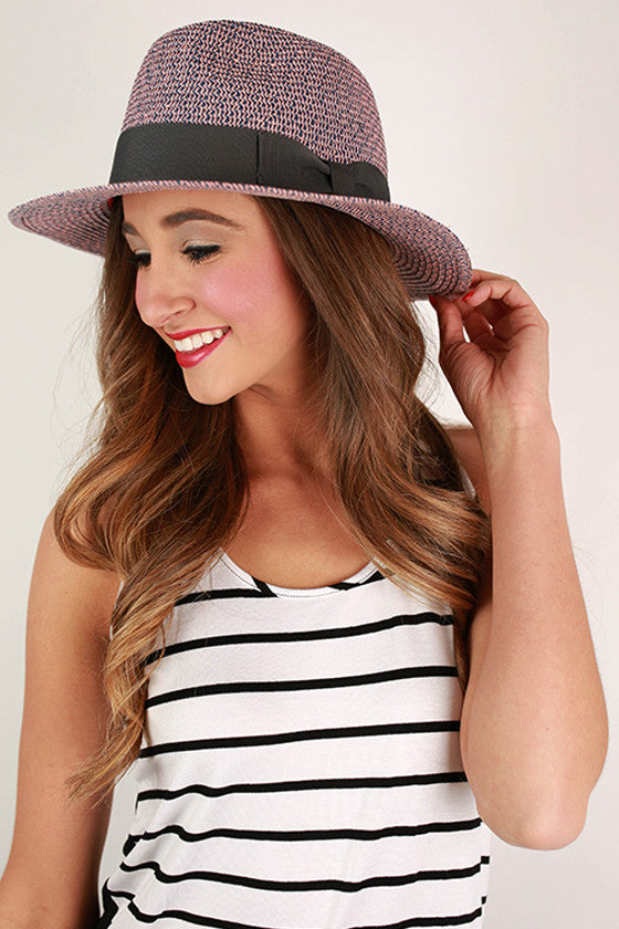 My Favorite Fedora in Pink