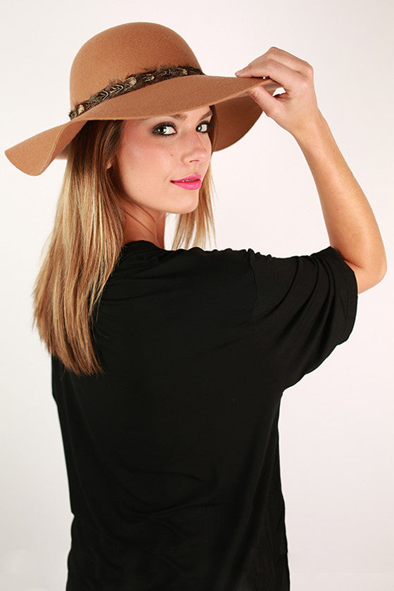 Always Chic Hat in Tan