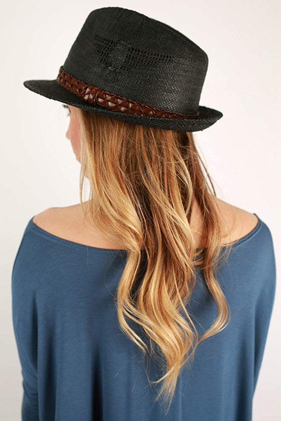 Fashion Forward Fedora in Black